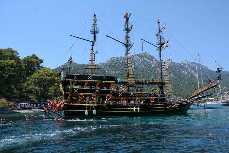 Best Marmaris Pirate boat trip