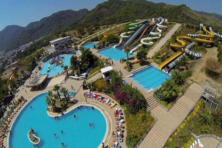 Best and biggest Waterparks in Marmaris İcmeler