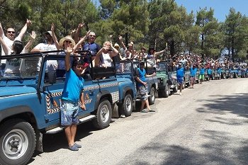 Marmaris Jeep Safari Tour