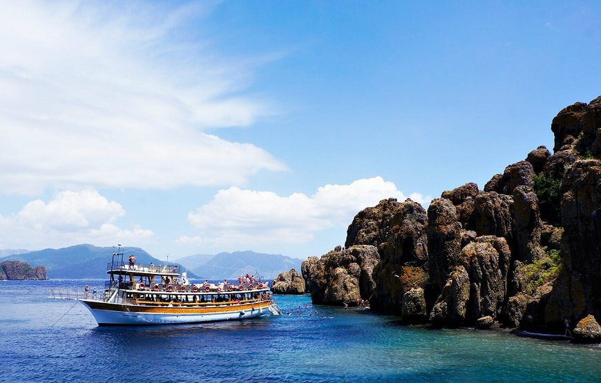 Marmaris to Aegean İsland Boat Trip